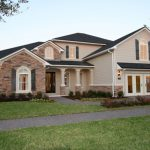 Dover Model - French Country Elevation