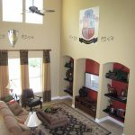 Glendale Family Room w 2 Story Cathedral Ceilings